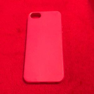 Accessories - Pink IPhone 5 Case